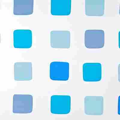 Duschrollo Blue 240 x 128 cm
