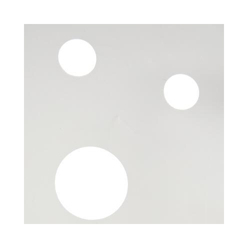 "Duschvorhang ""Schnee"" 180 x 200 cm"