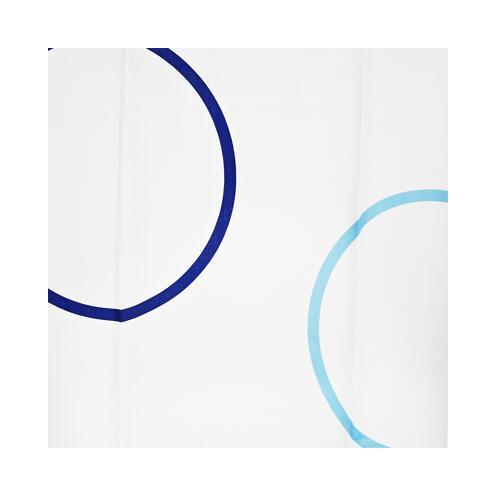 Duschvorhang Ringe 180 x 200 cm
