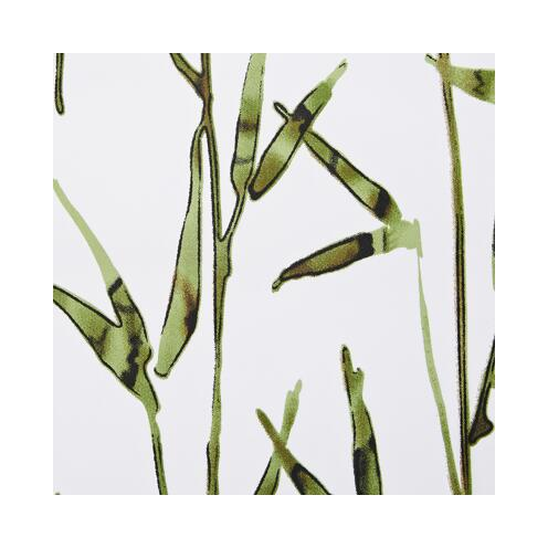 Duschvorhang Textil Bambus 200 x 180 cm