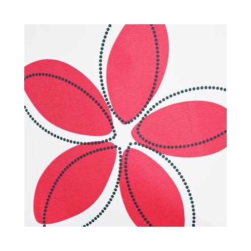 Duschvorhang Textil Fleur 180 x 200 cm