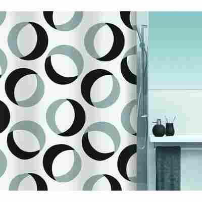 Duschvorhang Rings 180 x 200 cm