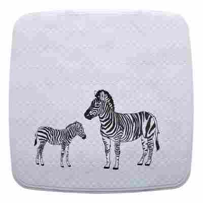 Duscheinlage Zebra 54 x 54 cm