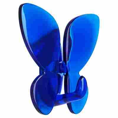 Klebehaken 'Mariposa' blau
