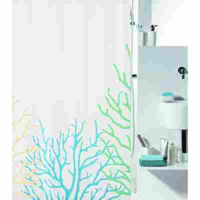 """Duschvorhang """"Coral"""" 180X200 cm, Wasser/Sand"""