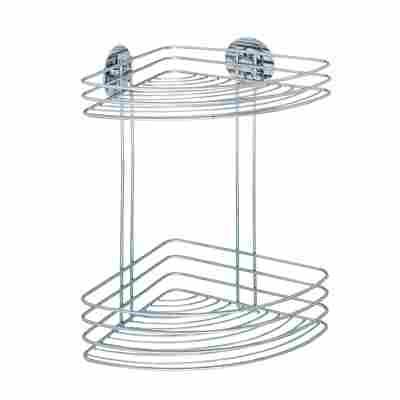 Eckregal 'Turbo-Loc®' mit 2 Ablagen, Befestigen ohne bohren
