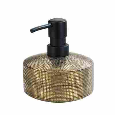 Seifenspender 'Rivara' Keramik gold, 400 ml