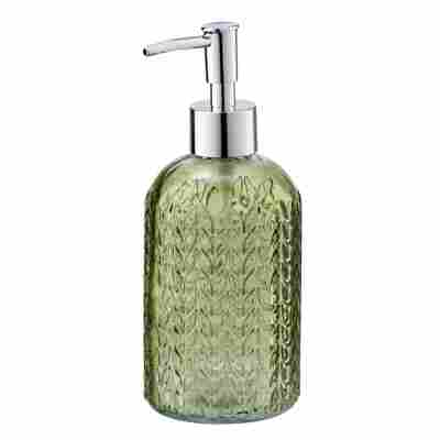 Seifenspender 'Vetro' Glas grün, 400 ml