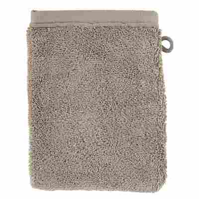 Waschhandschuh 21 x 16 cm grau