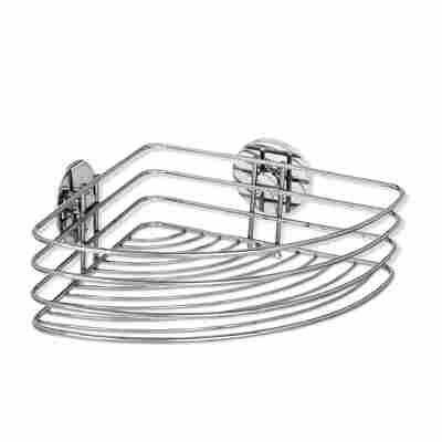 Eckablage 'Turbo-Loc®' chrom 26,5 x 10,5 x 20 cm