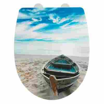 WC-Sitz 'Boat', Thermoplast, high gloss