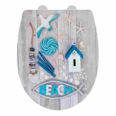 WC-Sitz 'Beach', Thermoplast, high gloss