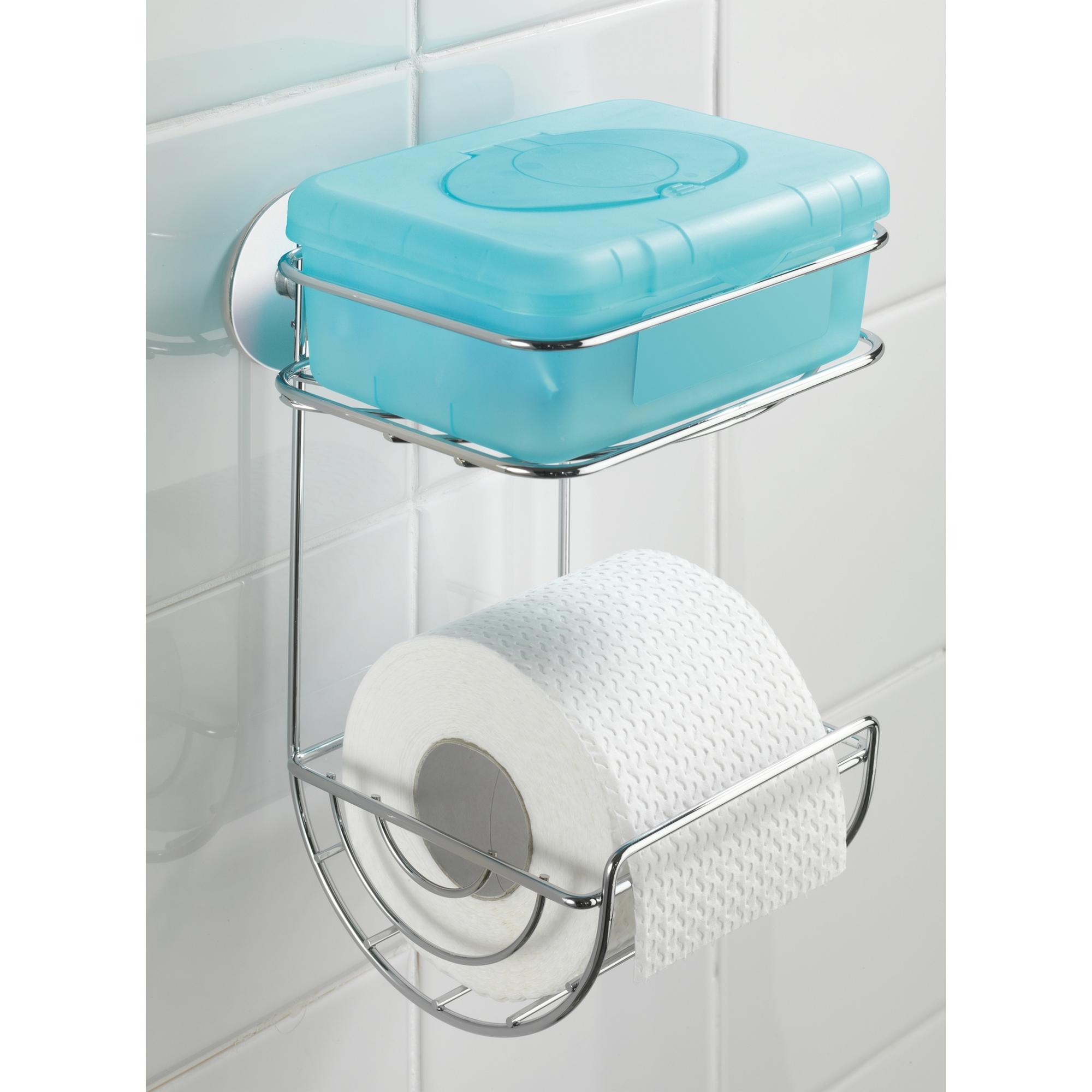 Toilettenpapierhalter U0027Turbo Loc®u0027 Mit Ablage, Befestigen Ohne Bohren
