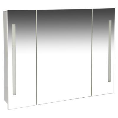Spiegelschrank Latina Weiss 89 X 69 Cm