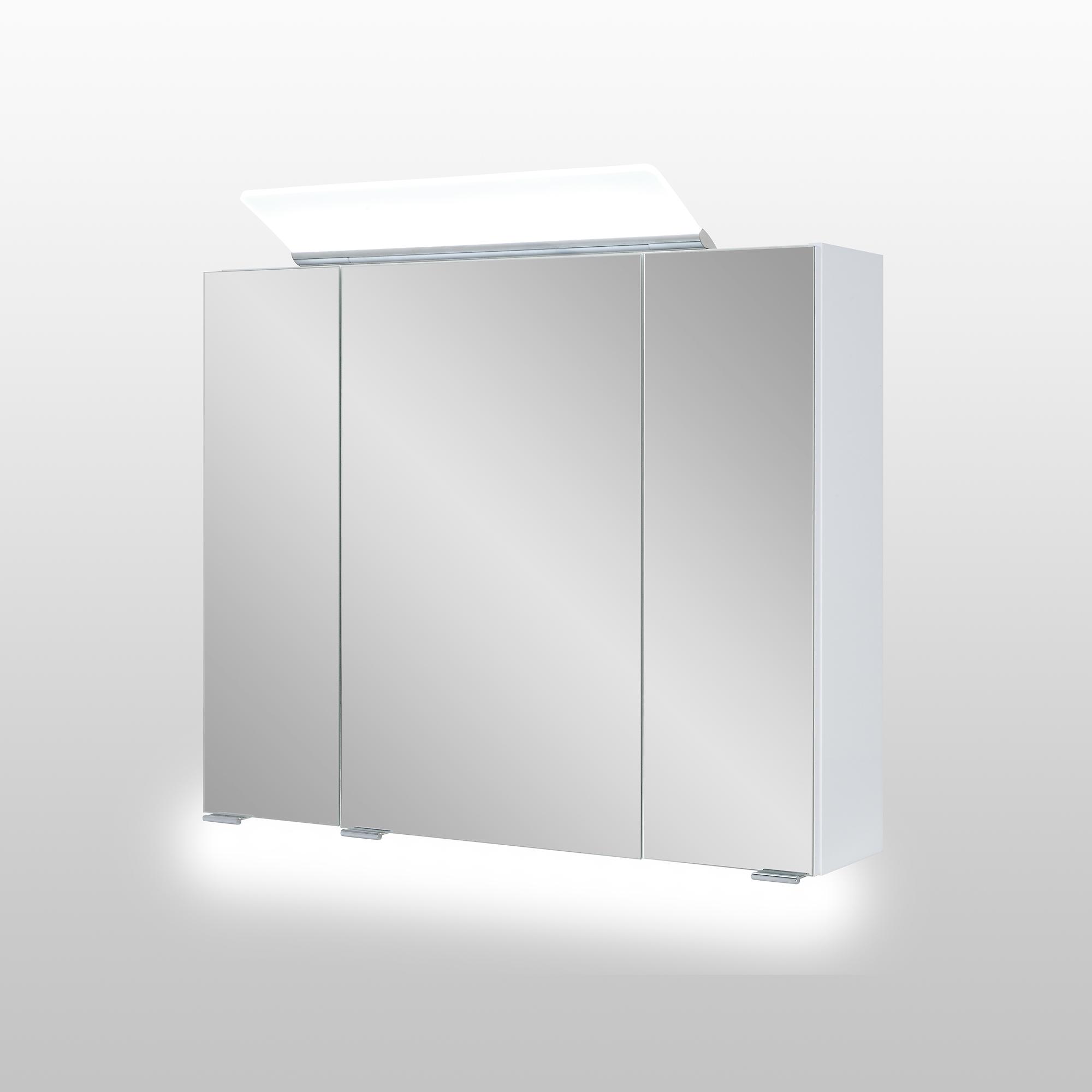 Image of Astor LED-Spiegelschrank 'Lili' 80 x 70 x 16 cm weiß