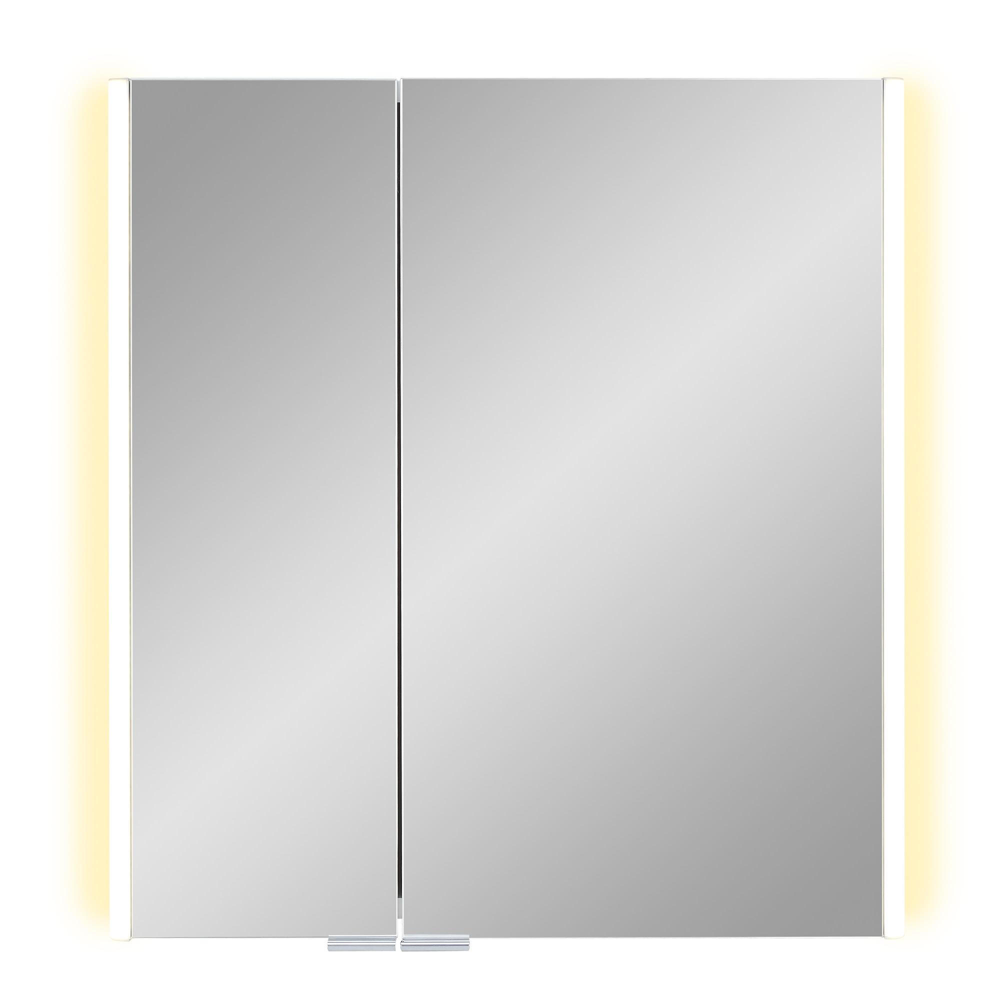 Image of Astor LED-Spiegelschrank 'Tomi' 60 x 65 x 18 cm weiß