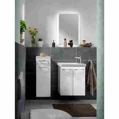 Waschtisch-Unterbau 'Milano' weiß 52 x 61 x 27,5 cm