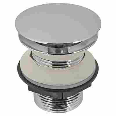 """Design-Schaftventil """"Luxus"""" Messing verchromt Ø 41,91 mm (1 1/4"""")"""