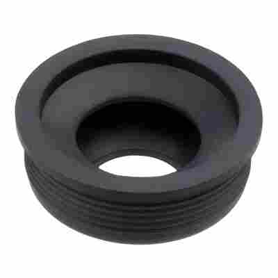 Gumminippel schwarz Ø 30-50 mm