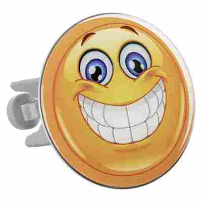Design Waschbeckenstöpsel XL 'Smiley'