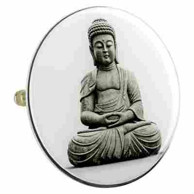 Design Badewannenstöpsel 'Buddha'