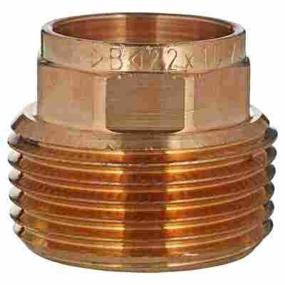 "Übergangsnippel Rotguss 25,4 mm (1"") AG x 22 mm"