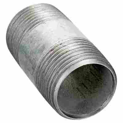 Rohrdoppelnippel Ø 1,27 x 4 cm