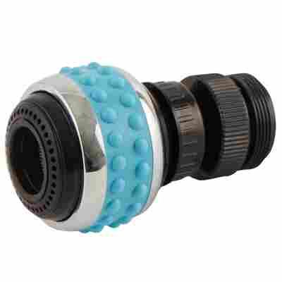 Bubble-Stream Küchenumstellbrause blau M22/M24