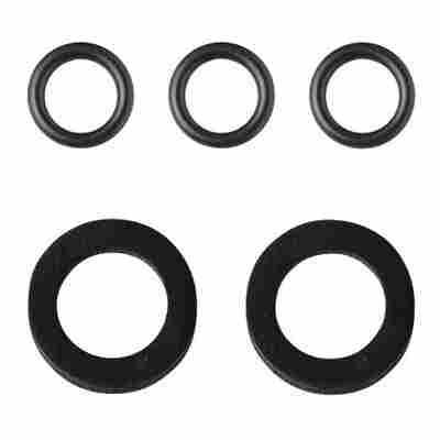 Gummidichtung schwarz 3/4 Zoll, 5 Stück