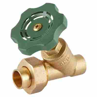 Schrägsitzventil ohne Entleerung 15 mm