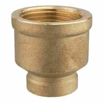 "Reduziermuffe Messing Ø 30,93 mm (1"") x 19,17 mm (1/2"")"