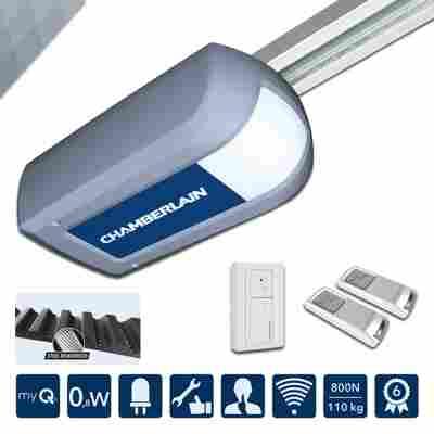 Garagentorantrieb 'ML810EV' silber, LED-Beleuchtung