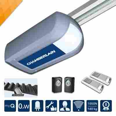Garagentorantrieb 'ML1040EV' silber energieeffizient
