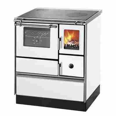 Küchenofen 'K 176 F/A' Rauchrohranschluß links 5,2 kW, weiß