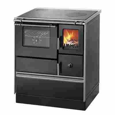 Küchenofen 'K 176 F/A' Rauchrohranschluß links 5,2 kW, schwarz