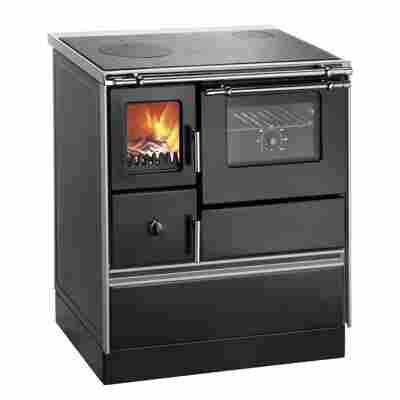 Küchenofen 'K 176 F/A' Rauchrohranschluß rechts 5,2 kW, schwarz