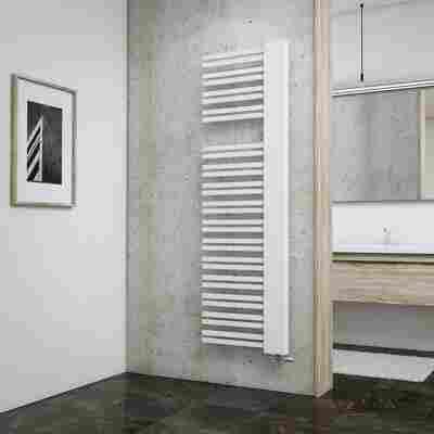 Badheizkörper 'Bologna' weiß 161 x 50 cm