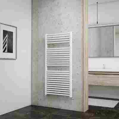 Badheizkörper 'München' weiß 121,5 x 60 cm