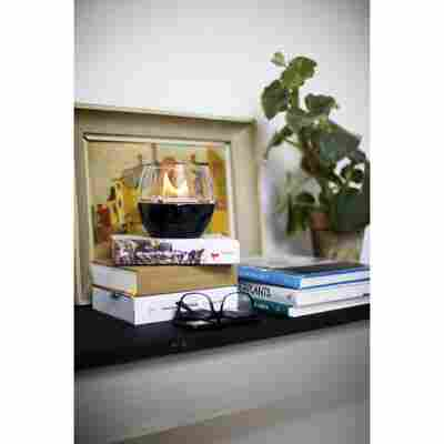 Tischfeuer 'Tulpe' 250 ml, schwarz