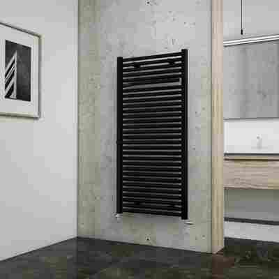 Badheizkörper 'Miami' Pearl-Schwarz 121,5 x 60 cm