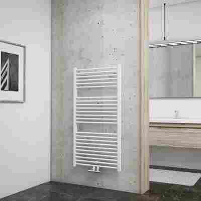 Badheizkörper 'Turbo' mit Mittenanschluss, weiß, 113,5 x 60 cm