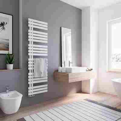 Badheizkörper 'Breda' weiß 169 x 50 cm