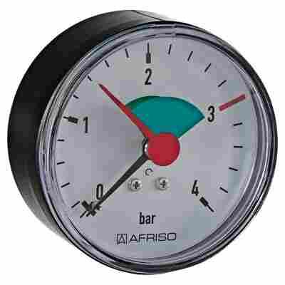 Rohrfeder-Manometer axial