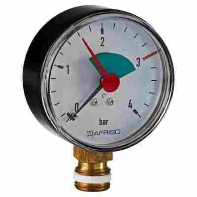 Rohrfeder-Manometer radial