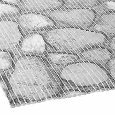 """Weichschaummatte """"Comfort"""" 1500 x 130 cm New Stones grau"""