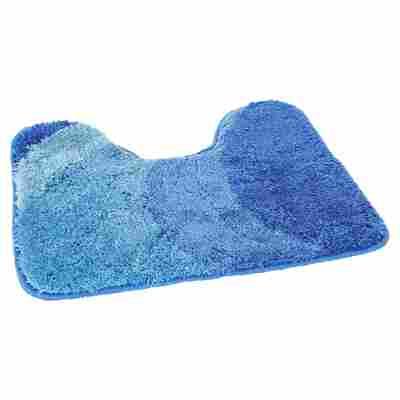 "WC-Vorleger ""Tokio"" blau 50 x 50 cm"