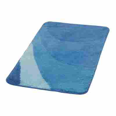 Badteppich 'Tokio' dunkelblau 90 x 60 cm