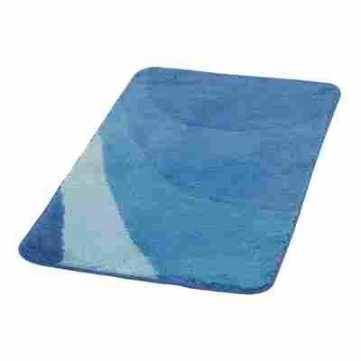 Badteppich 'Tokio' dunkelblau 120 x 70 cm