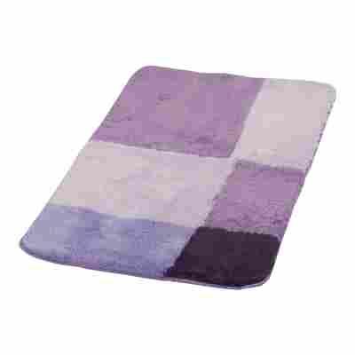 Badteppich 'Pisa' violett 90 x 60 cm