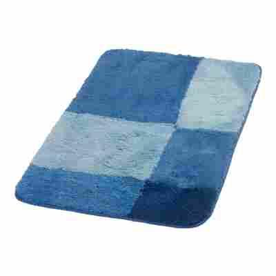 Badteppich 'Pisa' dunkelblau 90 x 60 cm